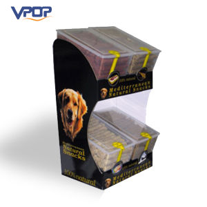 Store Advertising Retail Corrugated Dump Bin for Dog Snacks pictures & photos