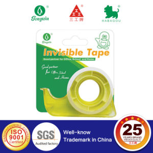 15mm X 10m Invisible Tape with Mini Plastic Dispenser pictures & photos
