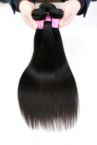 7A Brazilian Human Hair Virgin Hair Silky Straight 3 Bundles Black Color Hair Weaving pictures & photos