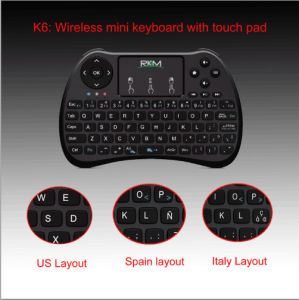 Rkm K6 Wireless Mouse Keyboard pictures & photos