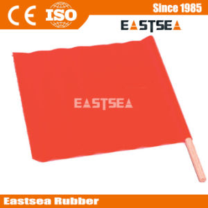 Orange Color Mesh PVC Fabric Material Traffic Flag (FLAG) pictures & photos
