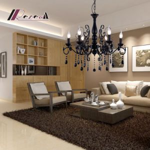 European Simple Crystal Candle Chandlier for Living Room pictures & photos