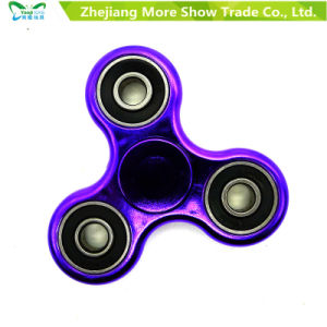 Hand Spinner Plating Color Fidget Spinner Adhd EDC Anti Stress Toys pictures & photos