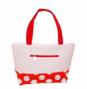 PU Women Tote Bag with Handle pictures & photos