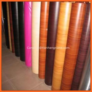 PVC Wooden Grain PVC Laminating Film for Window & Door Profile