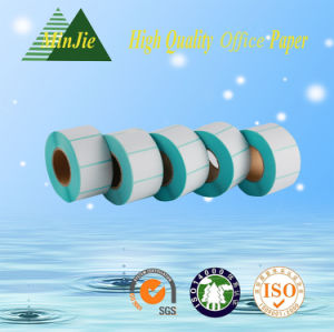 Blank Roll Adhesive Sticker Labels Made in China
