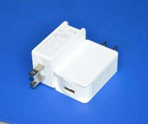EU Us UK Type AC/DC 5V2a-2.5A-3A USB Power Adapter pictures & photos