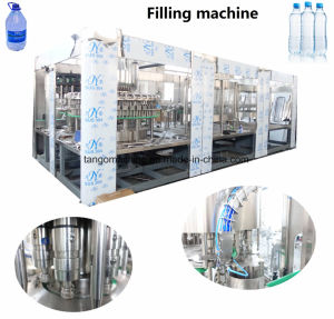 Full Automatic Complete Small Bottled Drinking Mineral Water Bottling Plant Production Line pictures & photos