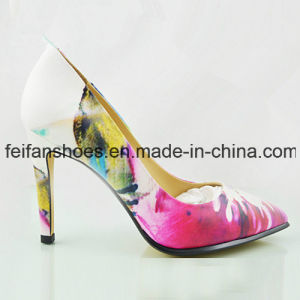 New High Heels Shoes Lady Dress Sandals with Customized (FFHH112302) pictures & photos