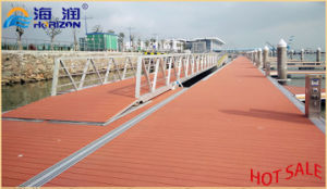 High Quality Galvanized Steel Boat Gangway Ladder for Floating Dock pictures & photos
