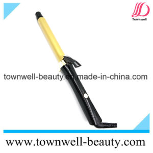 Light Ionic Hair Curling Iron with Long Clip Self Stand pictures & photos