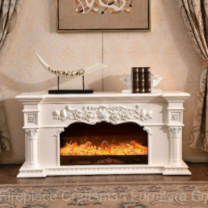 Ce Approved Home Furniture TV Stand Sculpture Electric Fireplace (318S) pictures & photos
