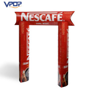 Products Promotion Cardboard Totem Display Stand for Advertising