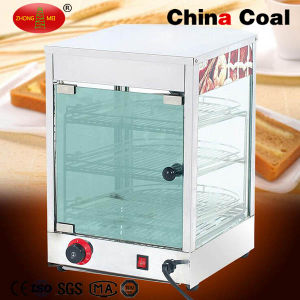 Tfw-1p3 Curved Glass Food Display Warmer pictures & photos