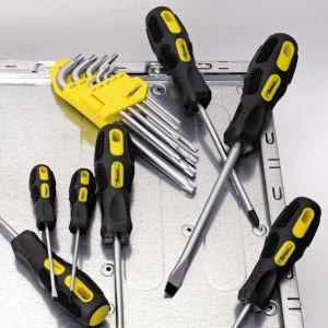 7PCS Hand Tools Cr-V Steel Blackened Magnetic Tips Screwdriver Set pictures & photos