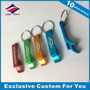 High Quality Keychain Custom Logo Zinc Alloy Bottle Opener Keychain pictures & photos