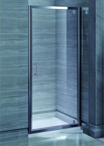 Shower Door Bathroom MID-Range 6mm Pivot Door Shower Enclosure (MR-PD80) pictures & photos