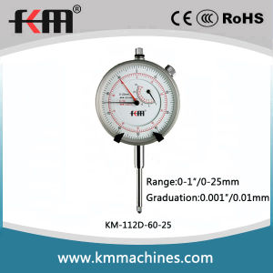0~25mm/ 0~1in Mechanical Dial Indicator Gauge pictures & photos
