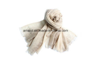 100% Cashmere Dyed Stole Shawl (AHY1000658) pictures & photos