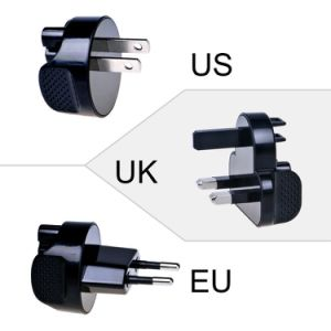 Dual USB Port Wall Charger with Detachable Us Plug pictures & photos