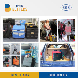 Folding Portable Fashionable Shopping Cart by Car pictures & photos