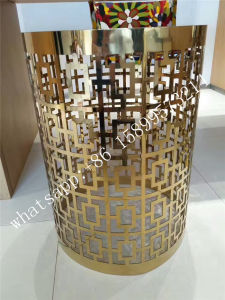 Perforated Stainless Steel Sheet Laser Cutting Screen Wall Decoration pictures & photos