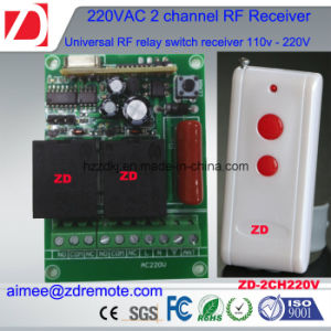 2channel 220V AC Rolling Shutter Remote Contro pictures & photos