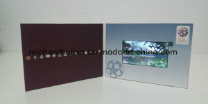 7inch Video Greeting Booklet Business Card Wedding Invitation Brochure (VC-070) pictures & photos