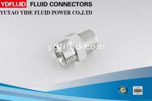 316 Stainless Steel Bsp to NPT Thread Hydraulic Fitting Adapter pictures & photos