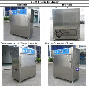 Ultraviolet Ray Expedite Test Chamber Used for Paint, Coating, Rubber pictures & photos