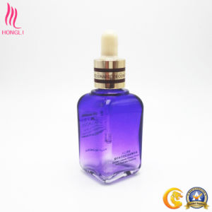 Decorative Glass Essence Container with Glass Pipette pictures & photos