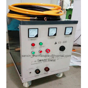 Anti Corrosive Coating Equipment for Transportation Facilities Commercial Buildings Arc Spraying Machine with Thermal Wire Spraying Pull / Push Torch Gun