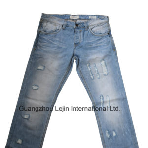 Jeans Grinding Destroy Machine/Denim Jeans Pants Grinder pictures & photos