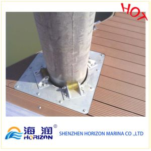 Aluminum Pile Holder for Floating Dock Made in China pictures & photos