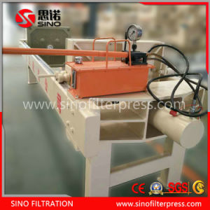 High Quality Manual Plate and Frame Hydraulic Filter Press pictures & photos