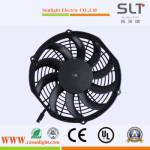 Energy Saving 12V Mini DC Condenser Axial Cooling Fan pictures & photos