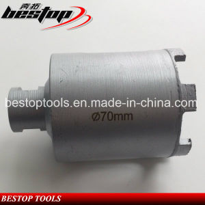 D70mm Diamond Dry Core Drill Bit with M14 Connection pictures & photos