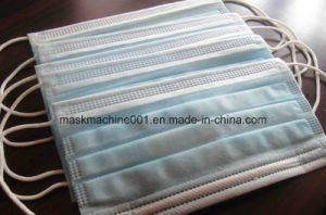 Automatic Ultrasonic Medical Mask Making Machine of 2 Outside Earloop Machines pictures & photos