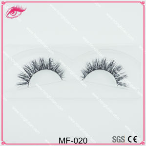 Siberian Mink Fur Strip Eyelashes OEM Eyelashes Mink Lashes Strip pictures & photos