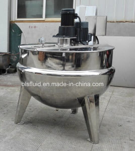 Stainless Steel Tilting Jacketed Kettle pictures & photos