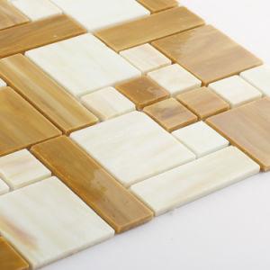 Modern Design Colorful Bathroom Backsplash Tile Glass Mosaic pictures & photos
