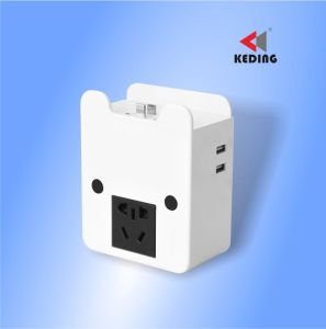 Wall Outlet Socket with USB Charger pictures & photos