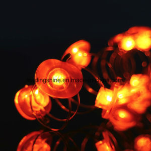 Red Apple Shape 20 LEDs Shining Fairy Light Copper Home Bedroom Party Wedding Decoration pictures & photos