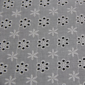 Cotton Embroidery Lace Fabric for Clothes pictures & photos