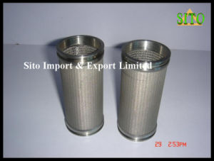 316L Stainless Steel Wire Mesh Filter pictures & photos