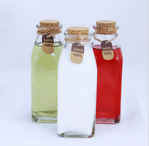 Beautiful and Practical Glass Bottle. Feeding Bottle