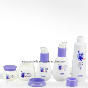 Small Airless Plastic Pet Lotion Bottles and Jars Collection for Cosmetic pictures & photos