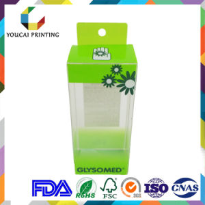 Customizable Plastic Printed Packaging Box for Tubes