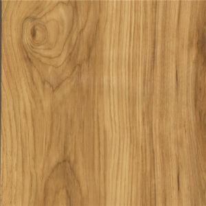 Retro Wood Pattern Mulit-Color Interlocking Vinyl Flooring pictures & photos