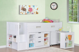 Loft Bunk Bed and Children Bedroom Furniture pictures & photos